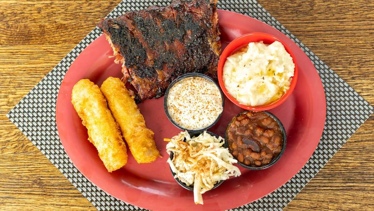 Ribs and Cod Platter