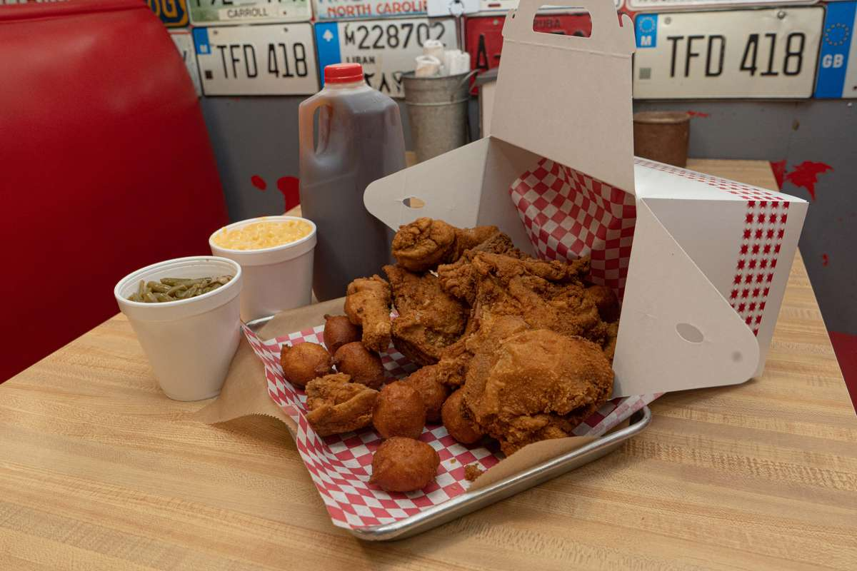 8 Pieces of Southern Fried Chicken
