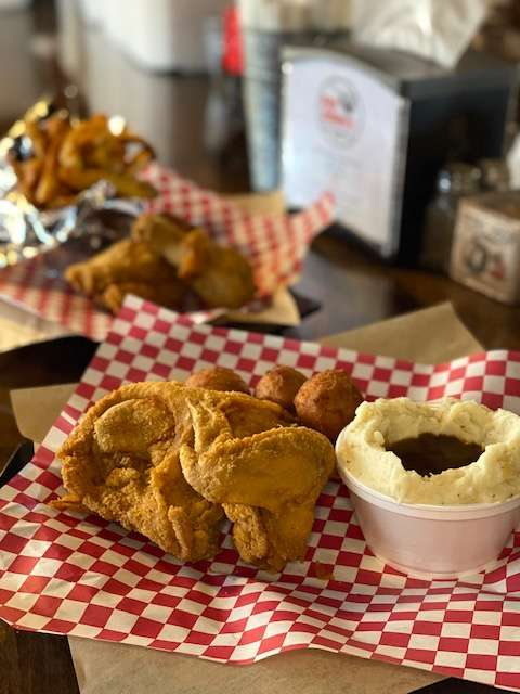 Southern Fried Chicken Plate
