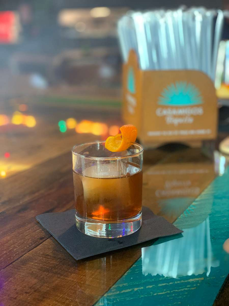 Smoked Bourbon Old Fashioned