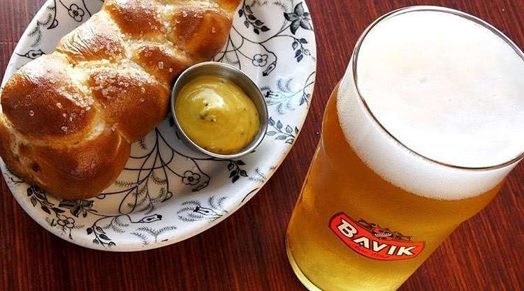 Soft Bavarian Pretzel
