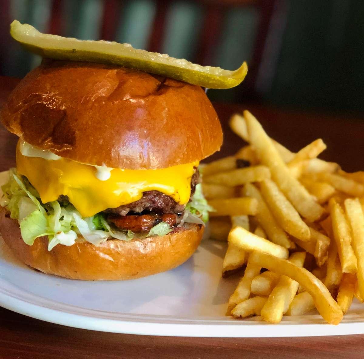 Rusty Monk Burger