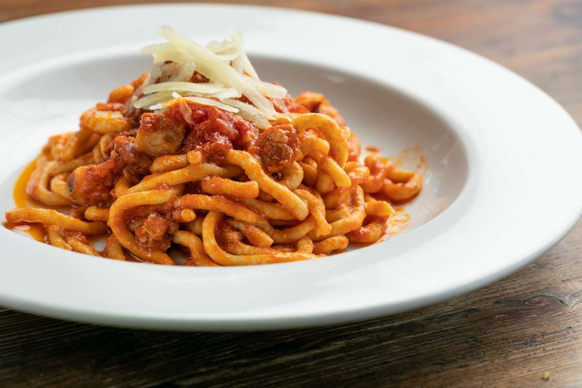 Bigolo all'Amatriciana