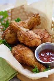 Baterless Fried Chicken