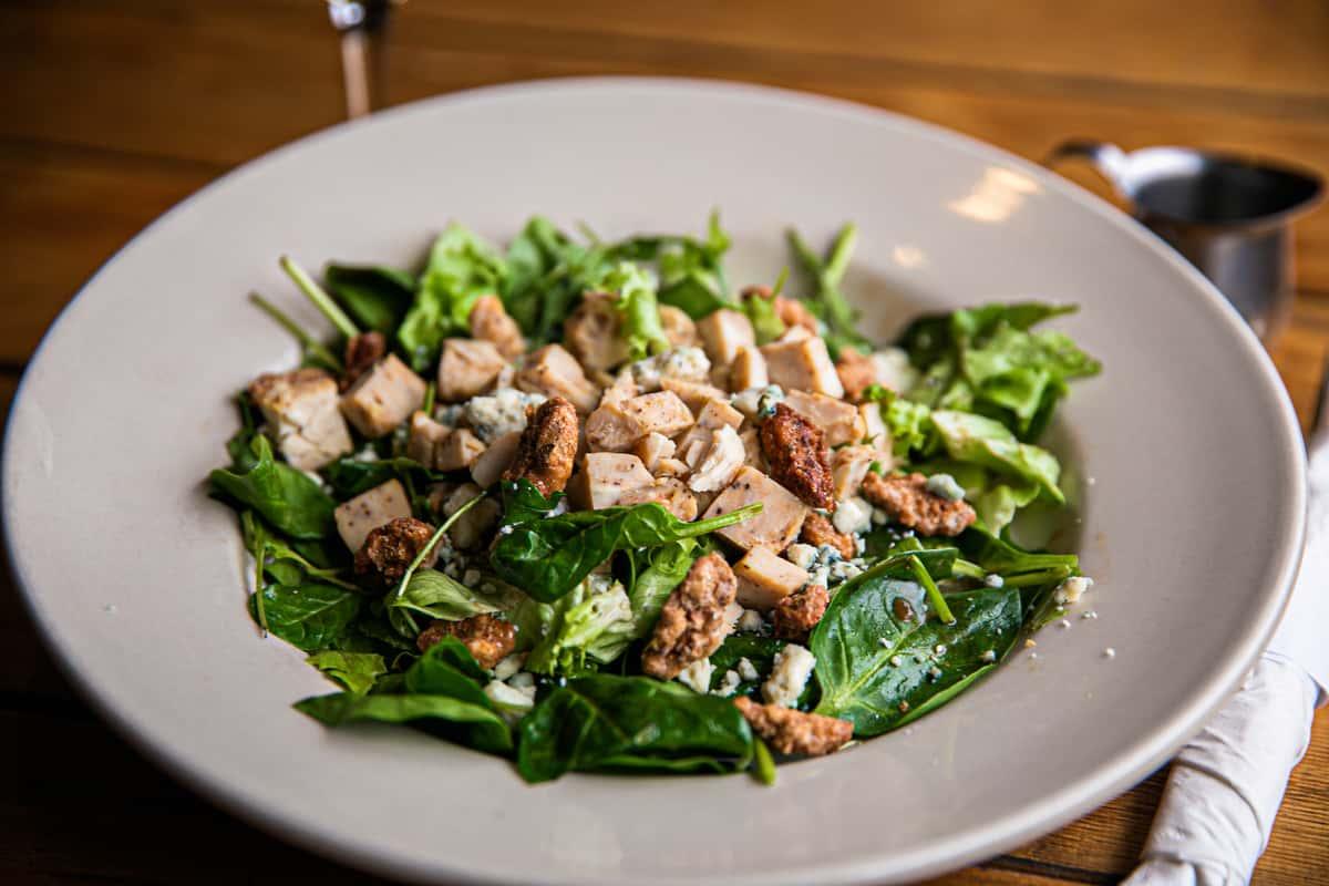 Candied Walnut & Gorgonzola Salad