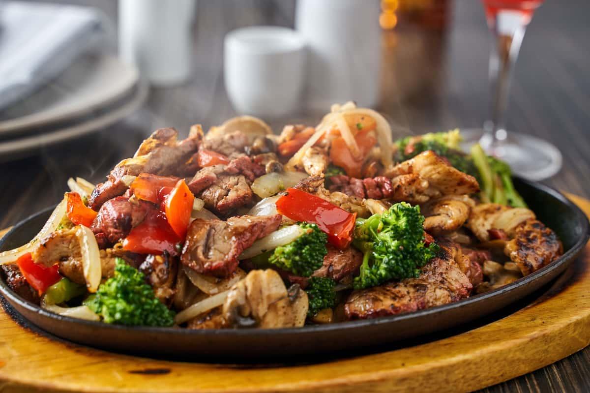 Blackened Chicken + Pork