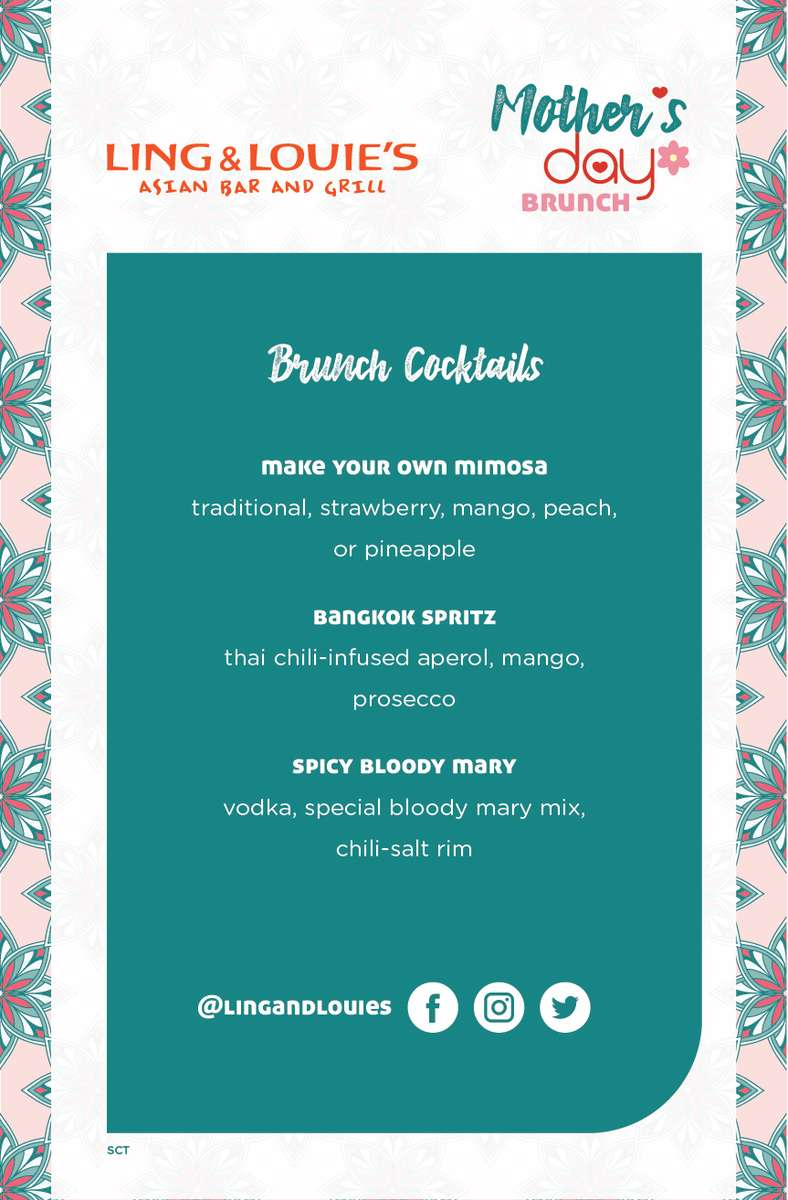 Mother's Day Brunch Drinks Image