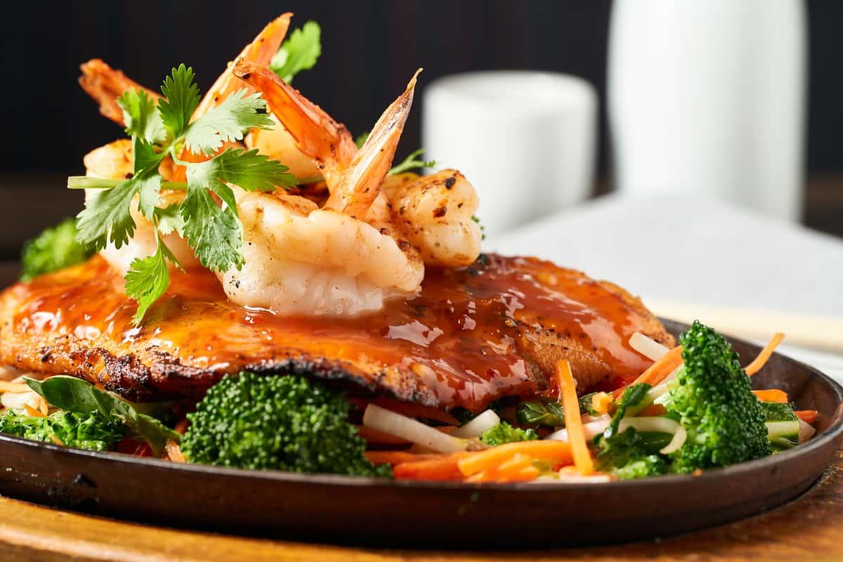 Spicy Salmon + Shrimp
