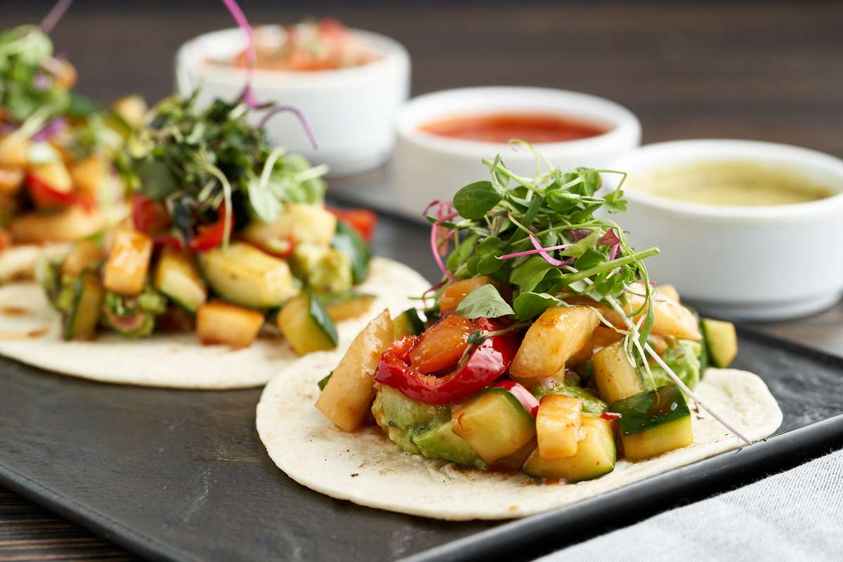 Stir-Fried Veggie Tacos