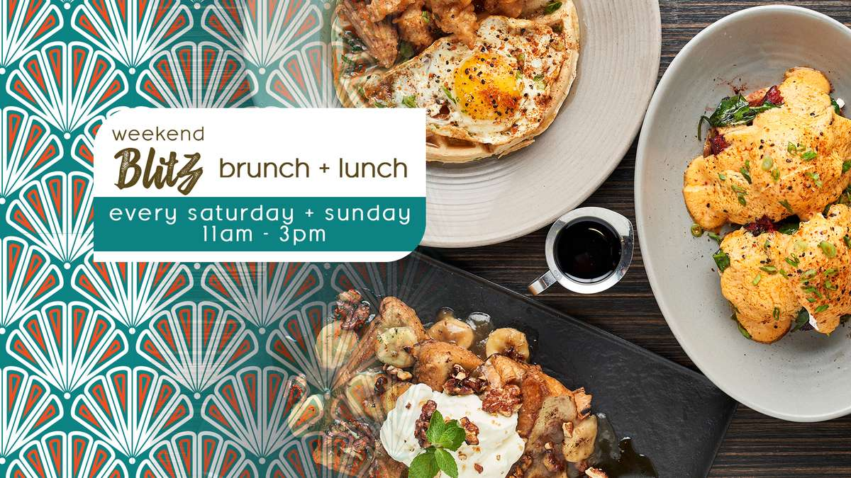 Weekend Brunch every Saturday and Sunday 11am - 3pm