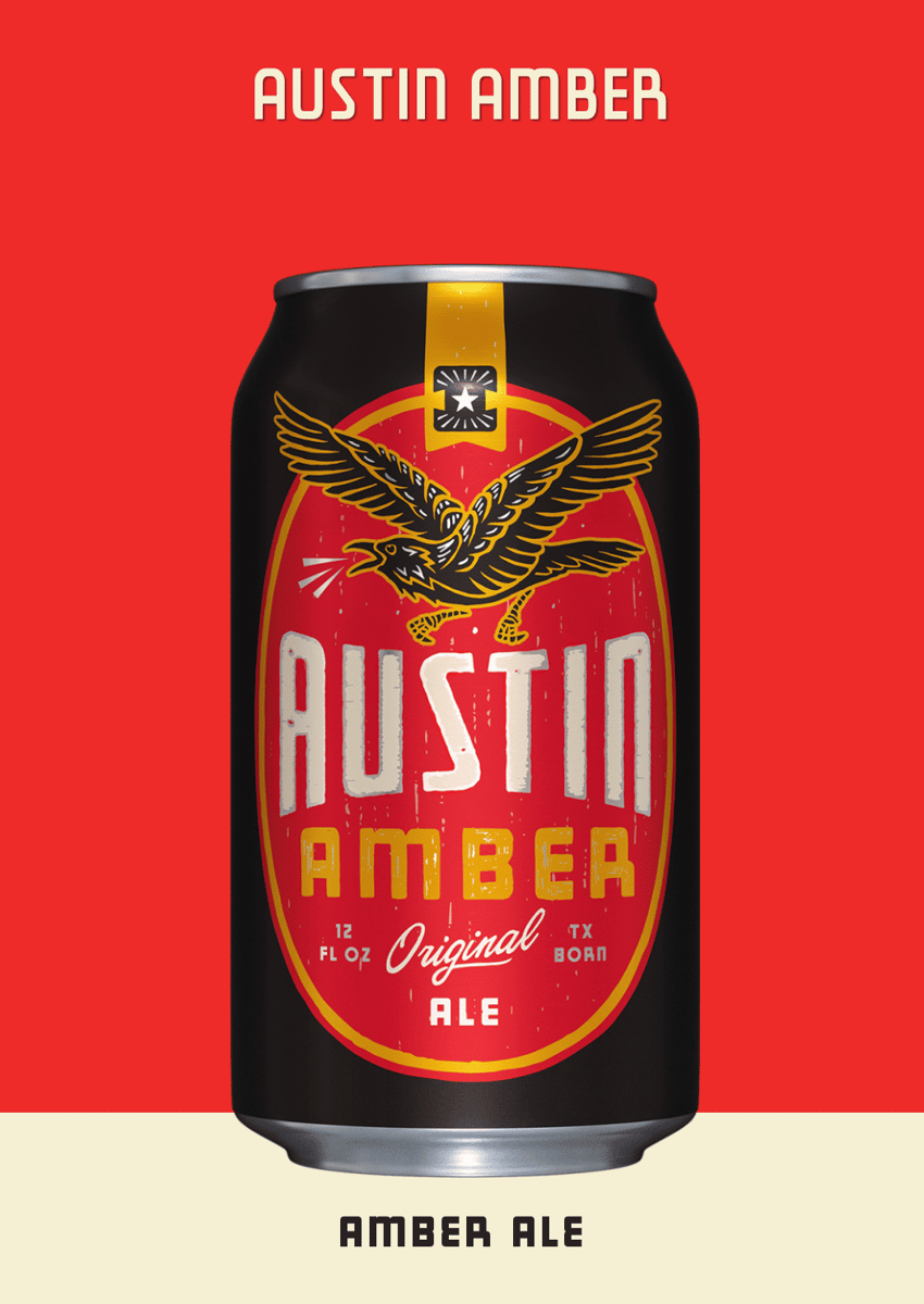 AUSTIN AMBER, INDEPENDENCE BREWING CO