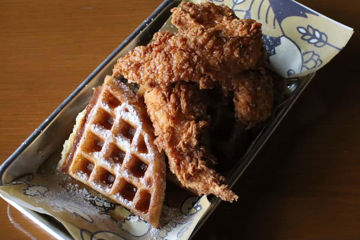 Chicken & Waffles-Churro