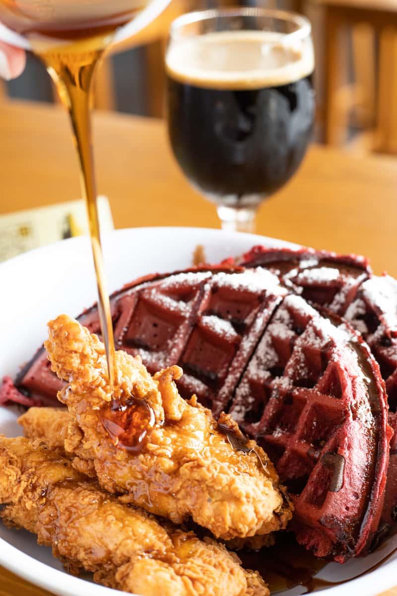 Chicken & Waffles-Red Velvet