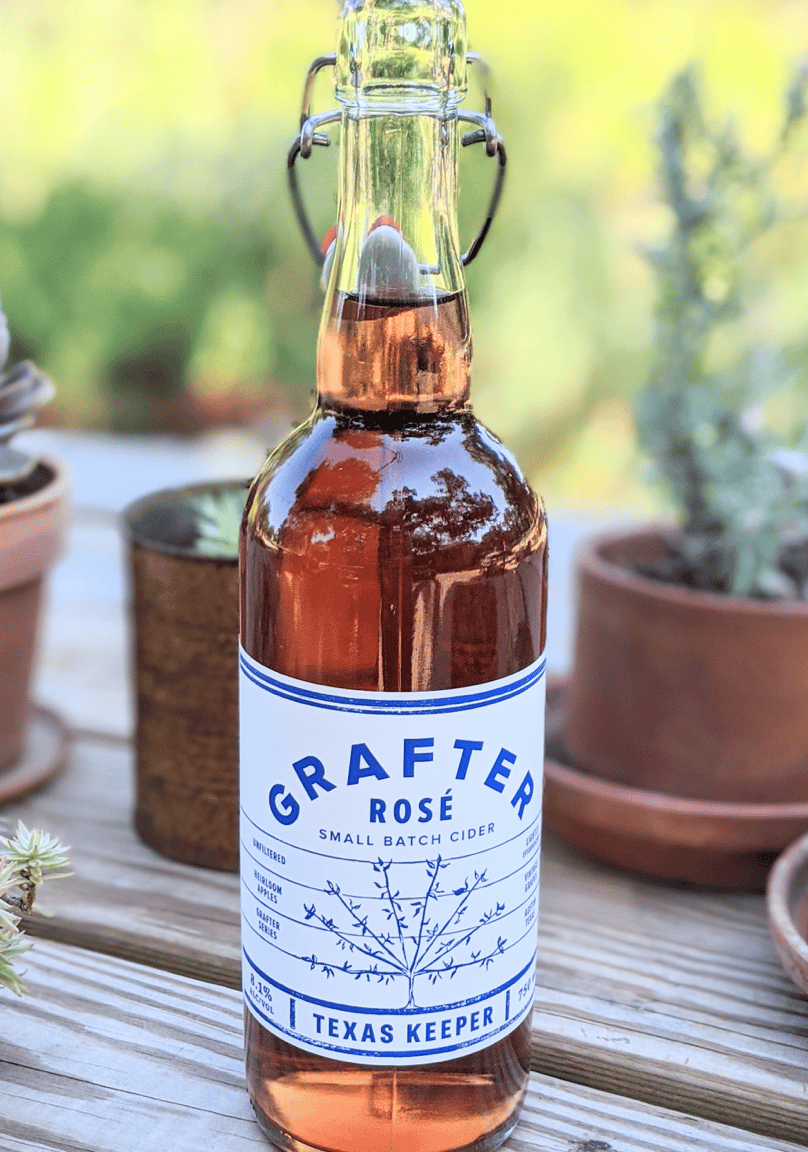 GRAFTER ROSE, TEXAS KEEPER CIDERS