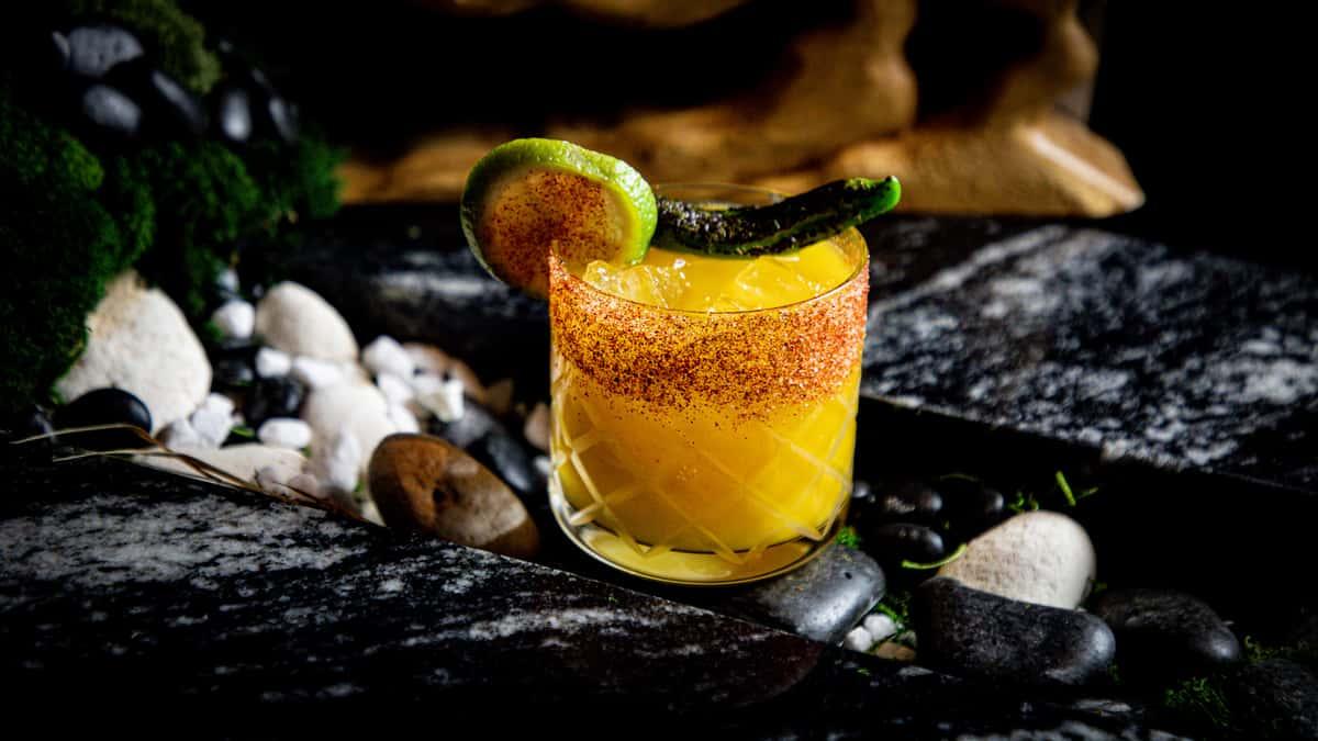 Shishito Mango Margarita