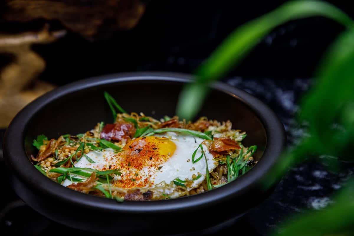 Bacon & Kimchi Fried Rice