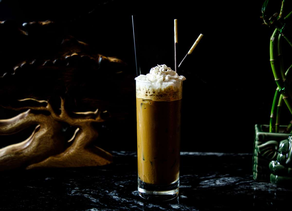 Bourbon Pandan Iced Coffee