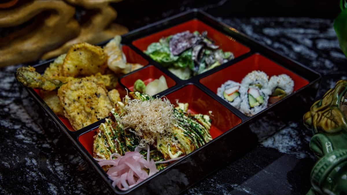 Okonomiyaki Bento