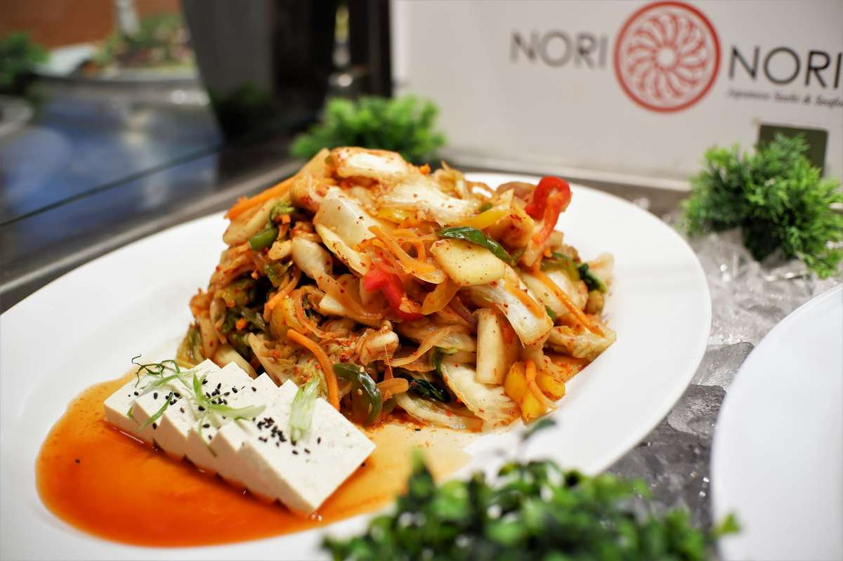 Spicy Kimchi with Tofu