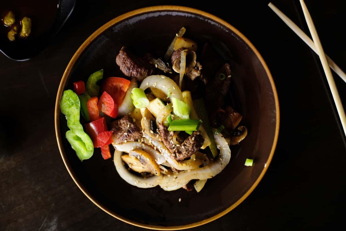 Hibachi Beef