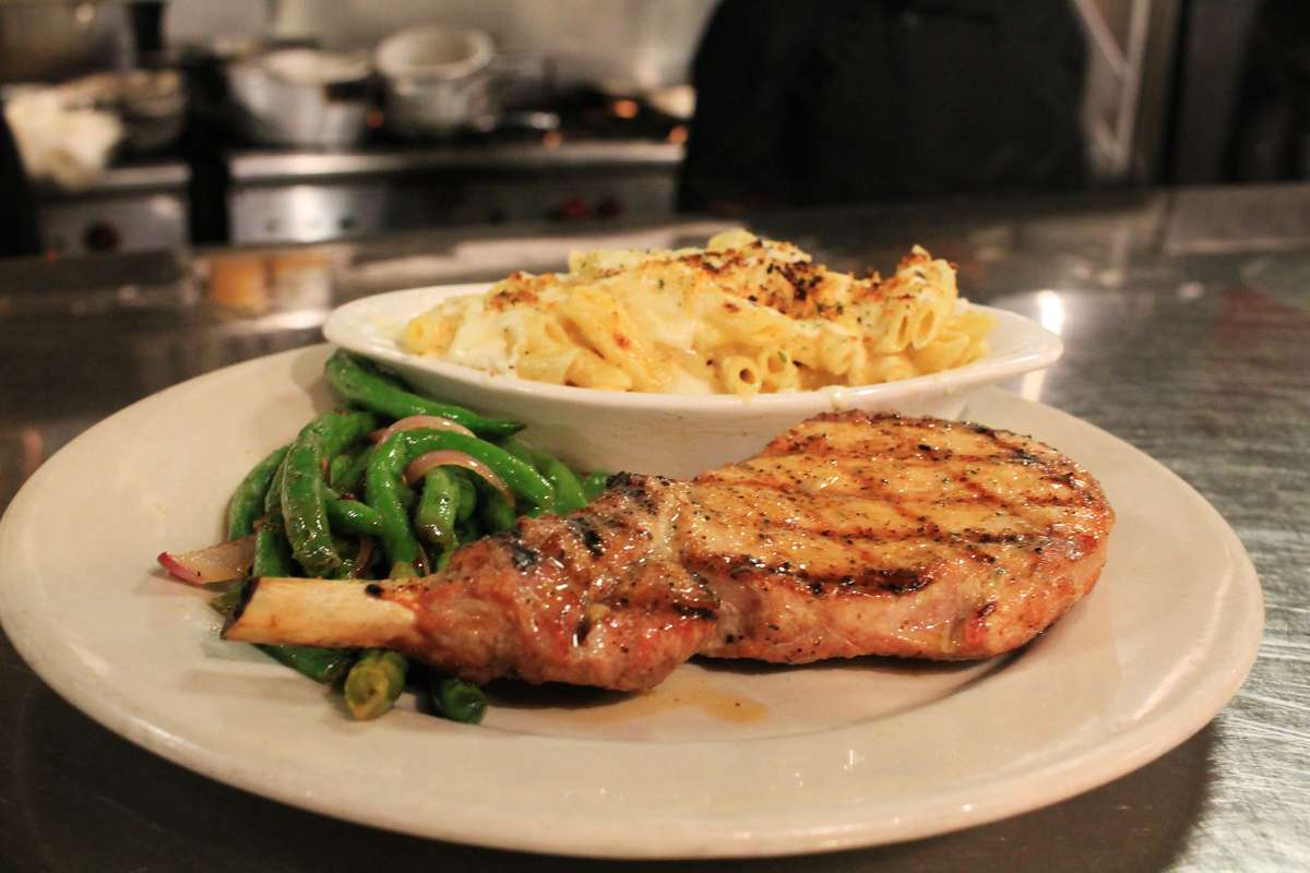 12 Oz. Grilled Pork Chop