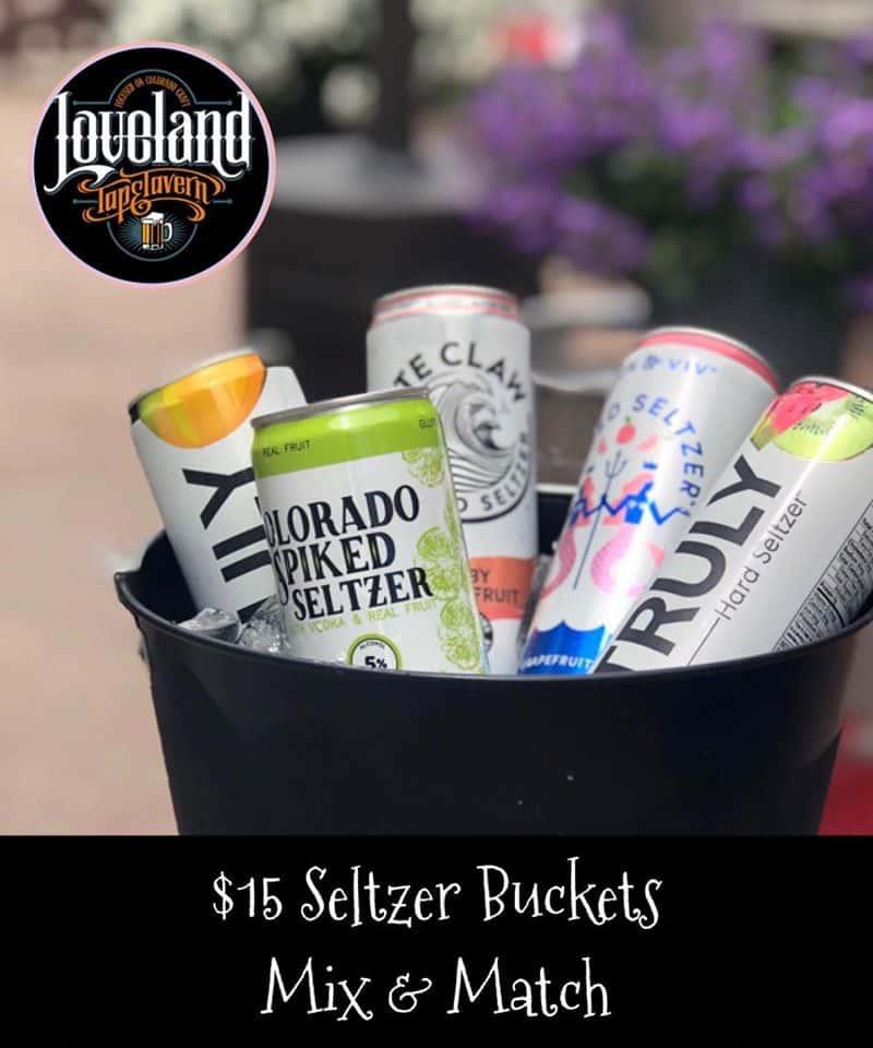 Seltzer Bucket/ 5 cans