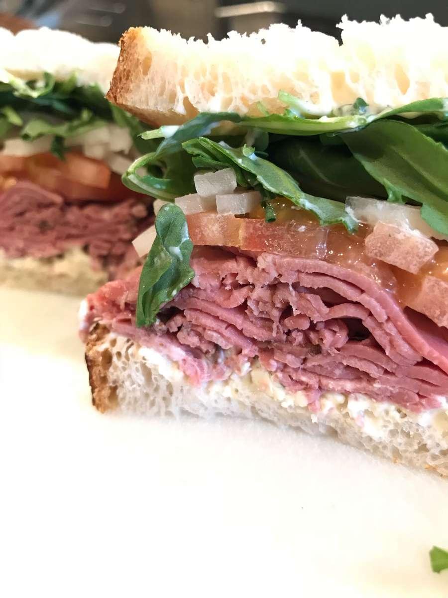 Horseradish Beef