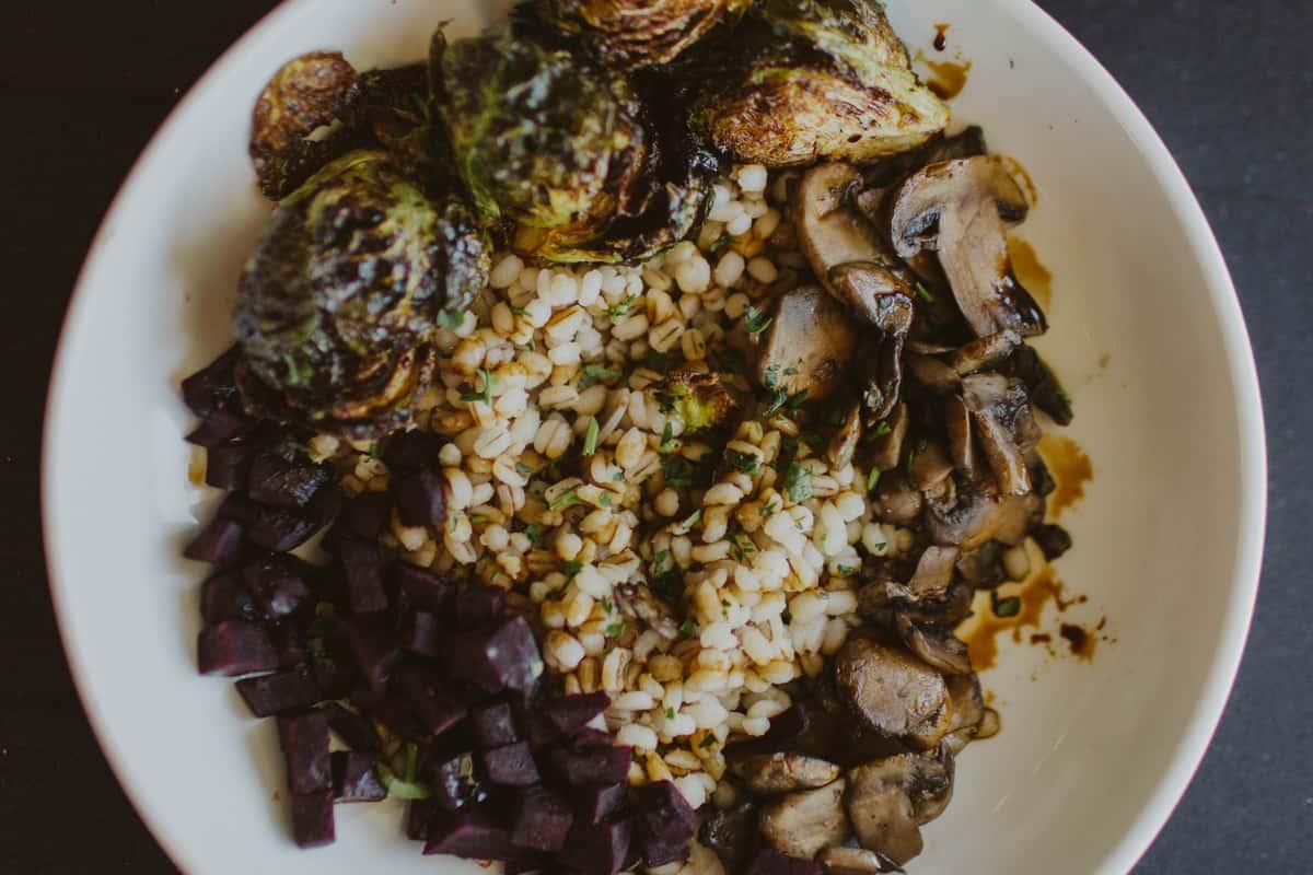 Barley Bowl (Vegan)