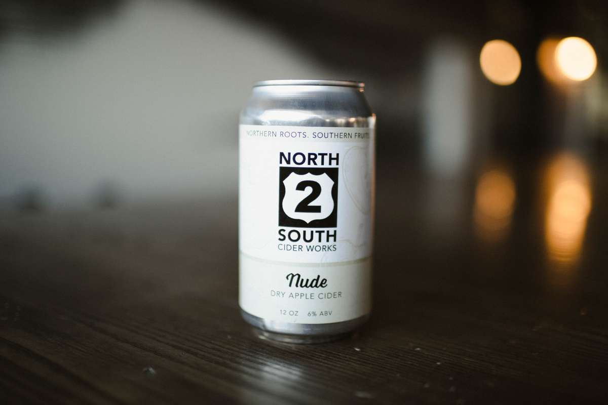 North 2 South Nude Dry Cider