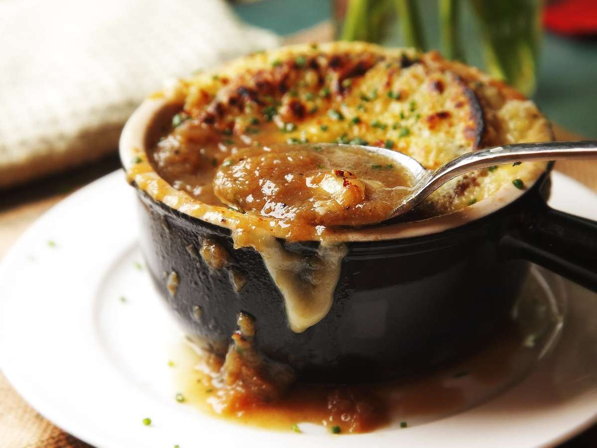 Homemade Baked French Onion Soup