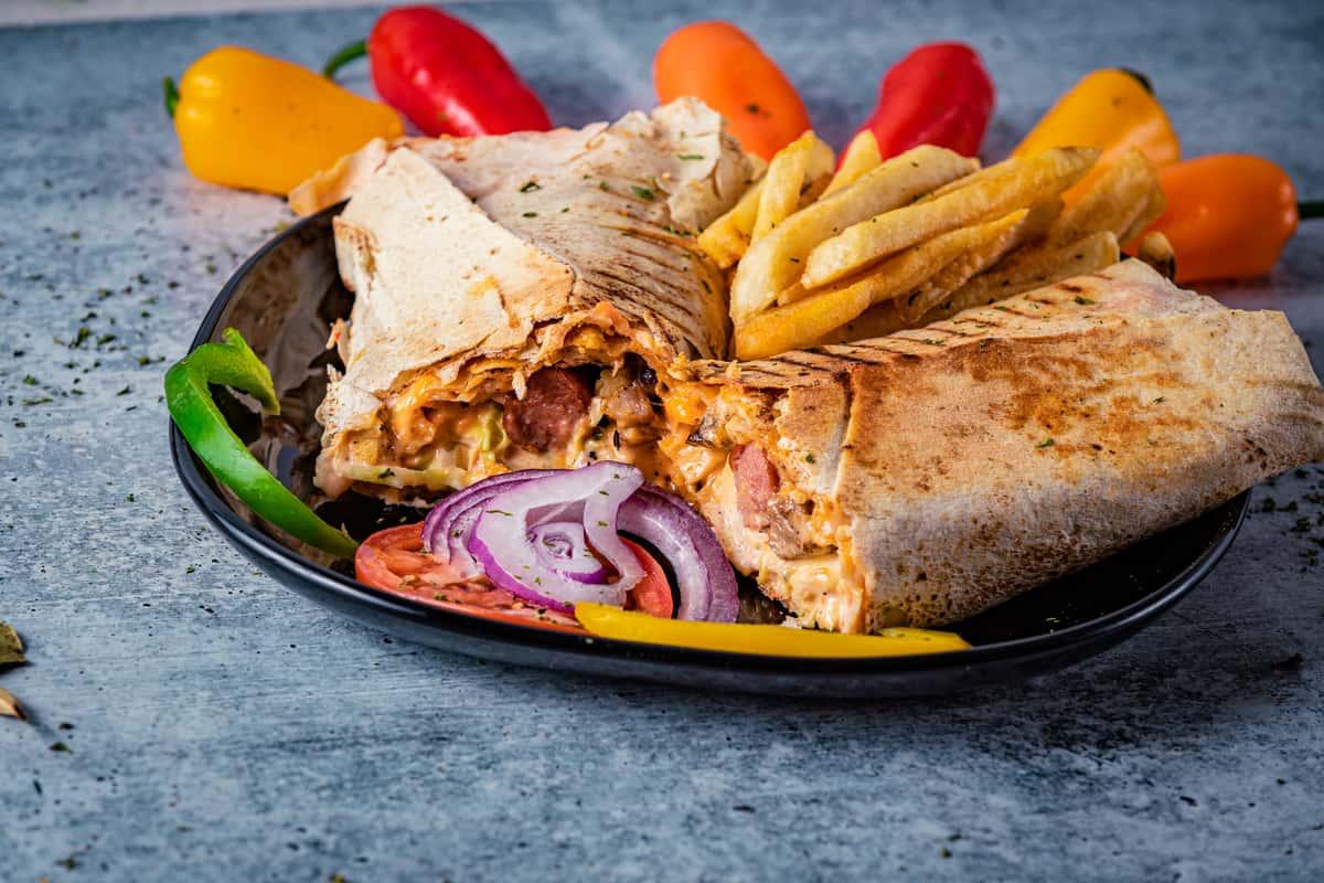 Combo Shawarma (Gidi style)