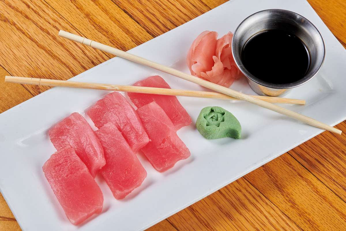 Sashimi - Seared Sushi-Grade Ahi