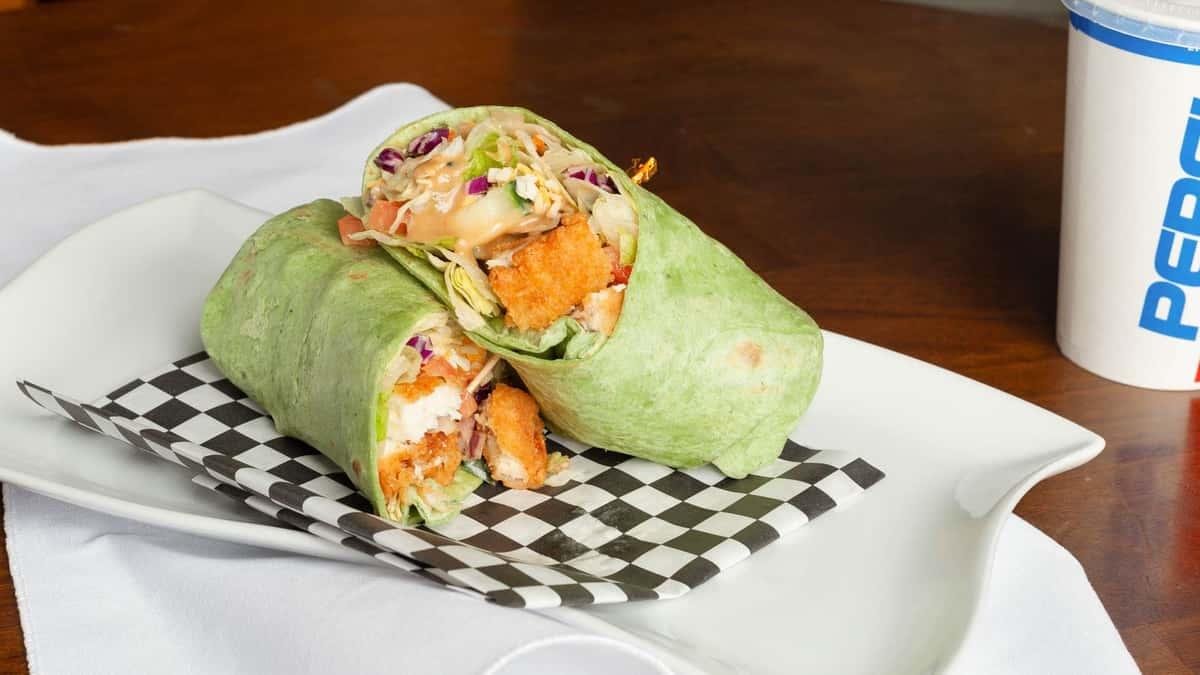 Crispy Chicken Thai Wrap