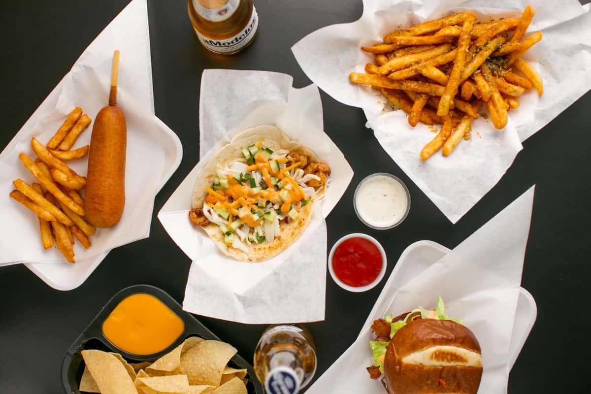 food layout