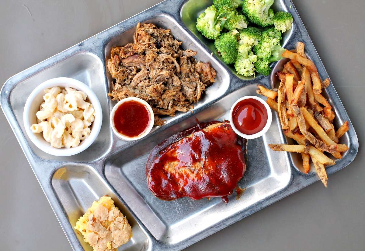 Double Wide TV Dinner trays