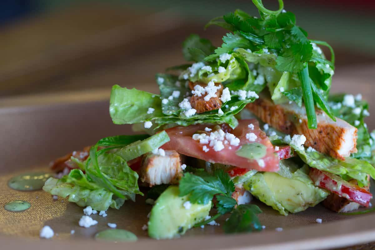 Rajas Salad