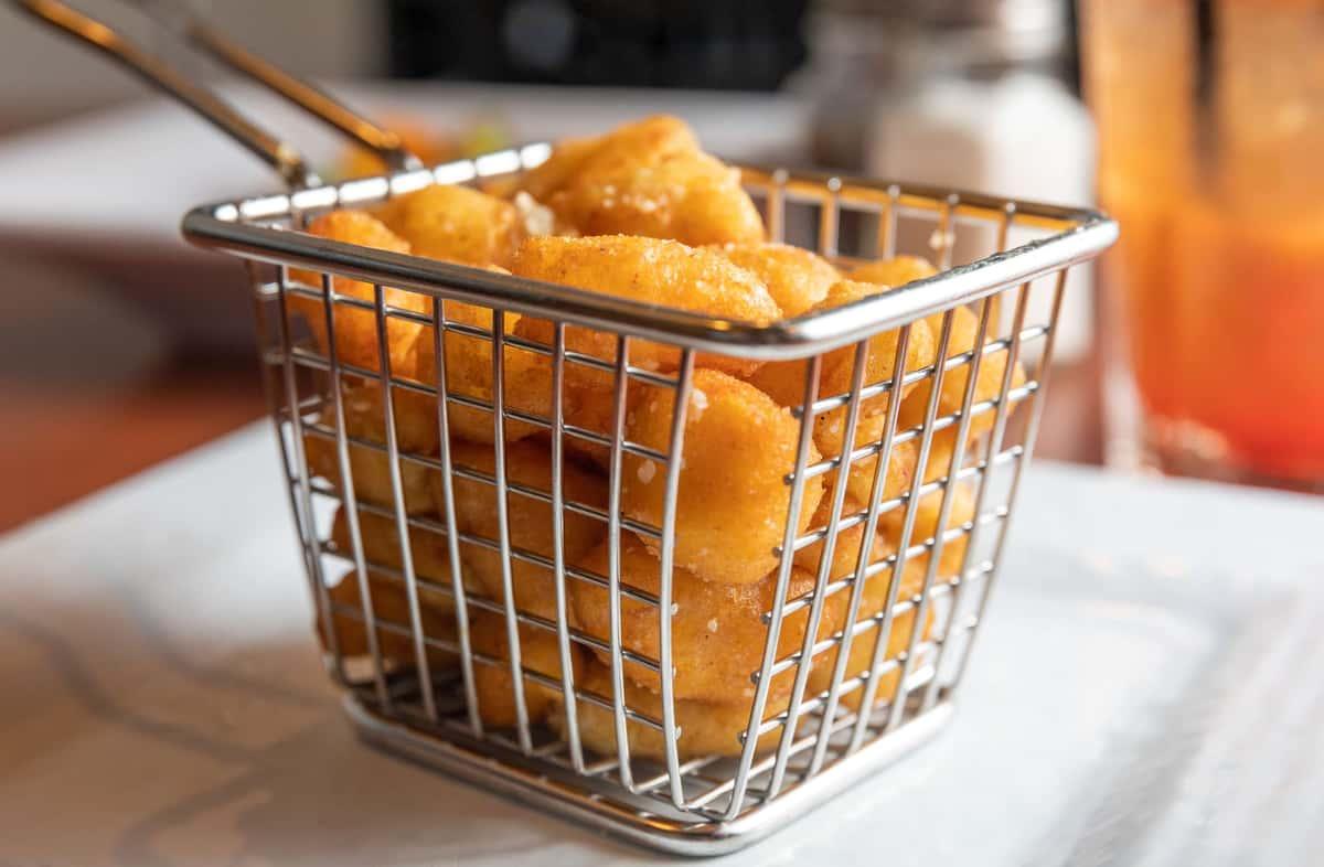 Truffle Parmesan Cheese Curds