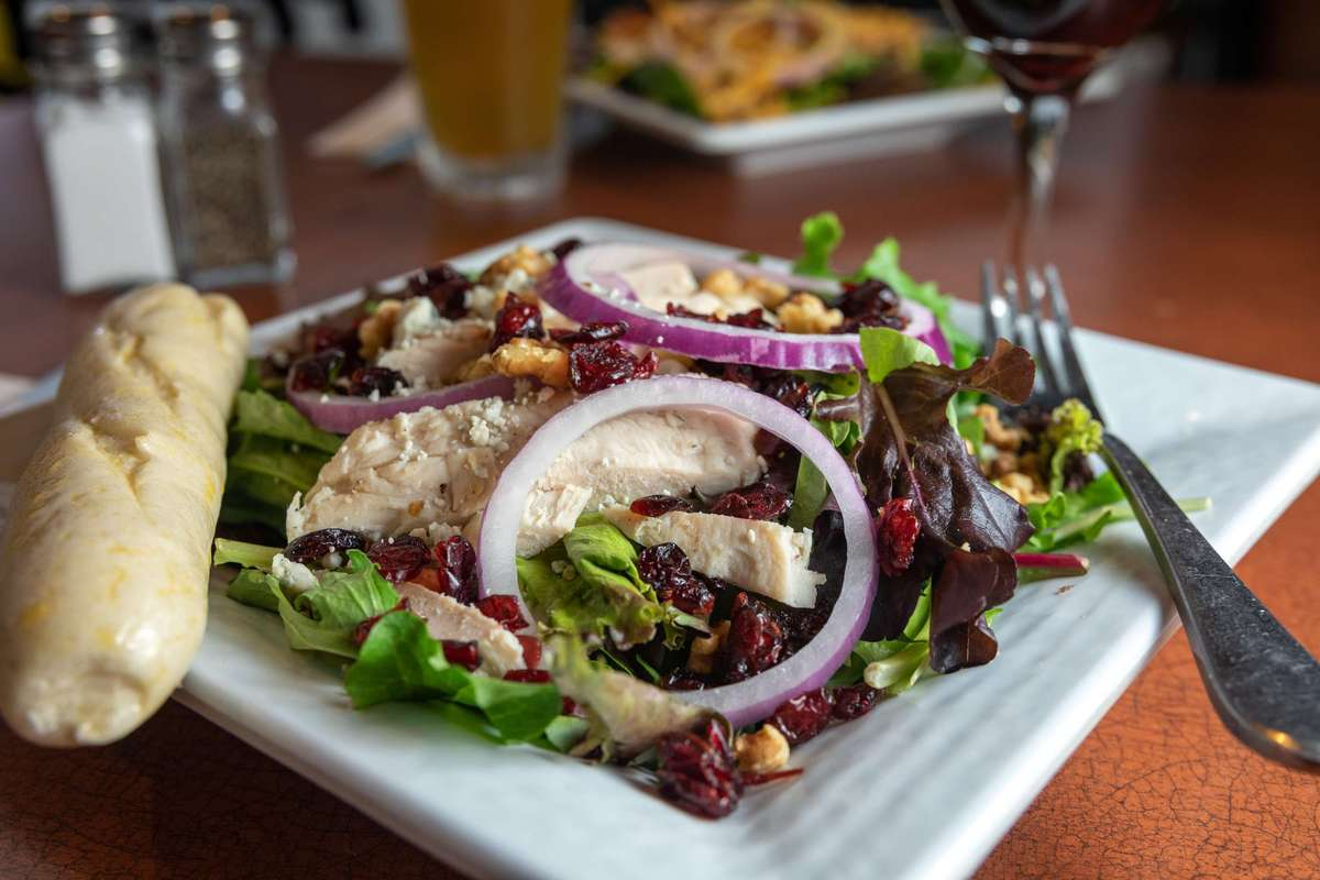 Cranberry Chicken Salad