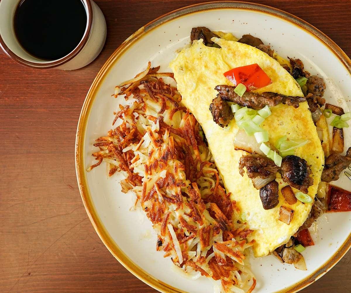 Big Steak Omelette