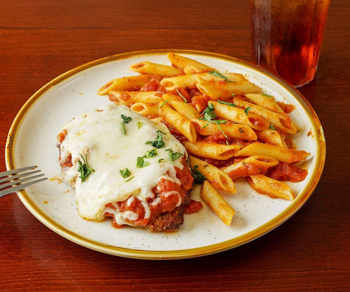Chicken Parmesan with Penne Regatta