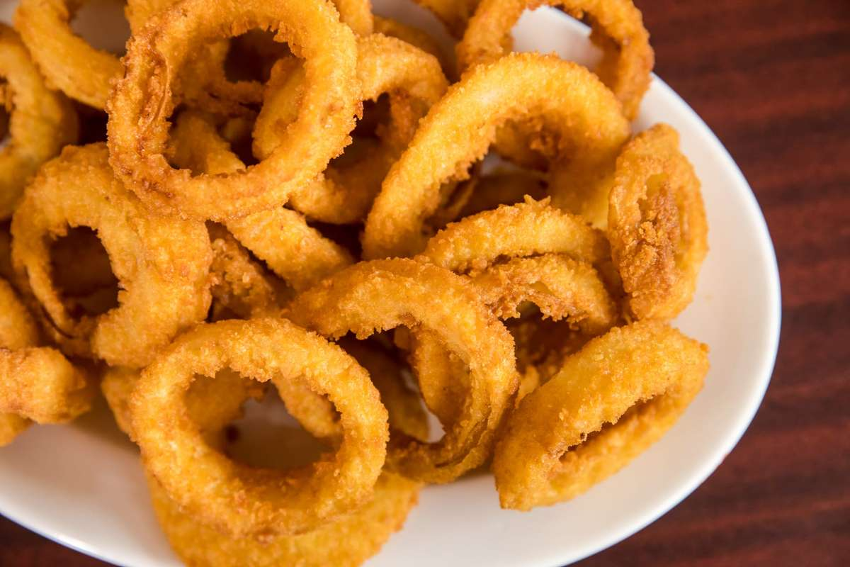 delicious side of onion rings