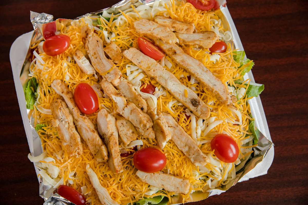Large Tray Grilled Chicken Salad
