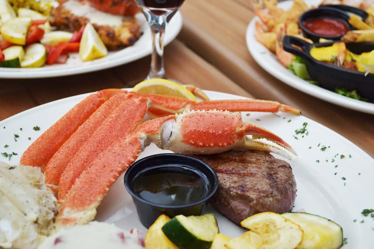 Crab & Steak