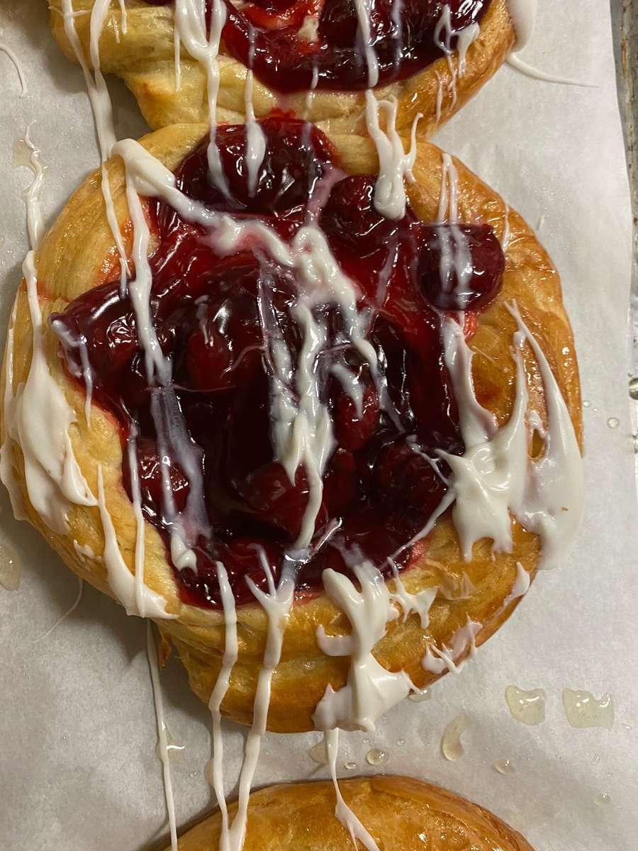 Cherry Danish