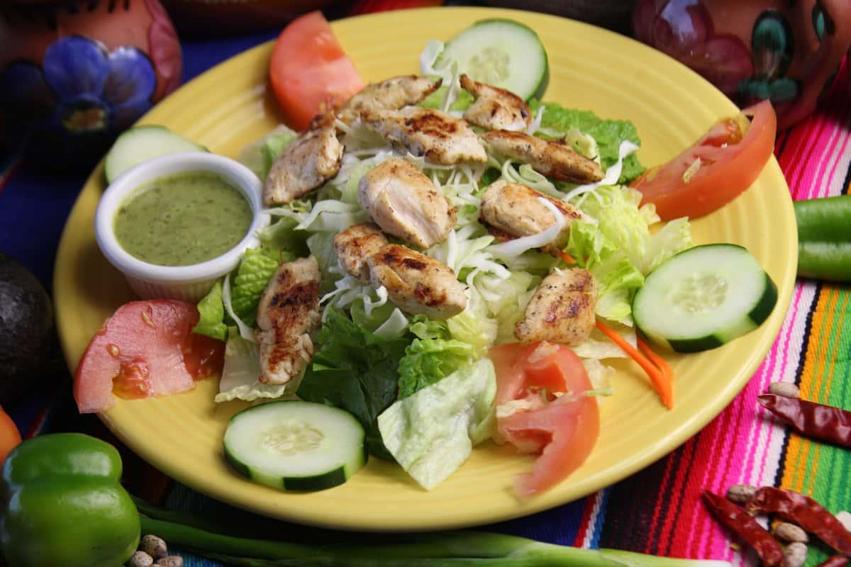 light chicken salad