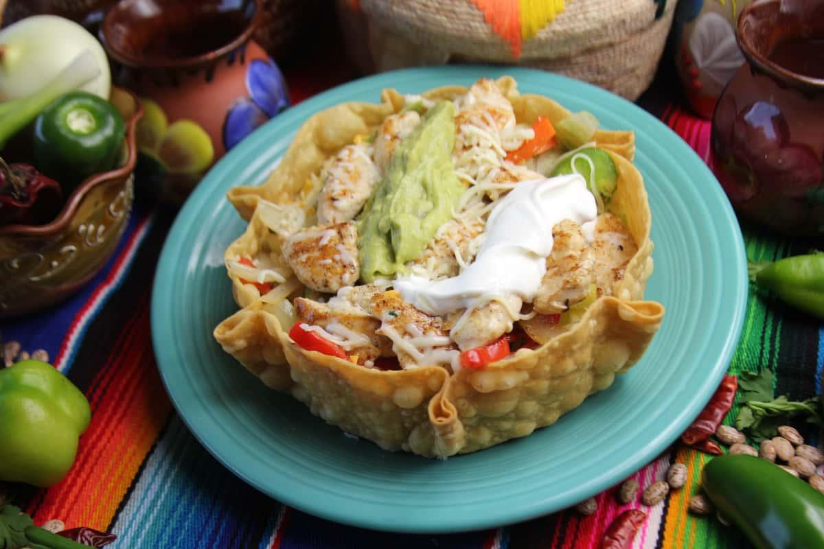 tostada taco salad