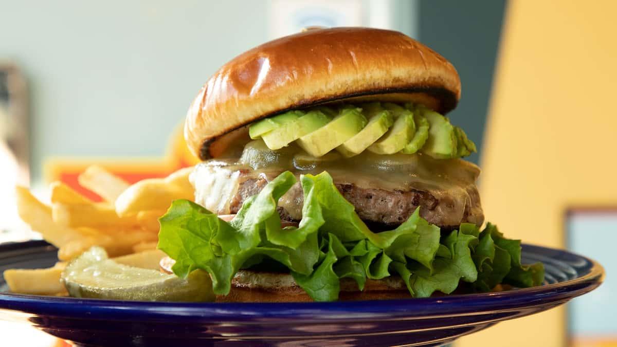 California Avocado Cheeseburger