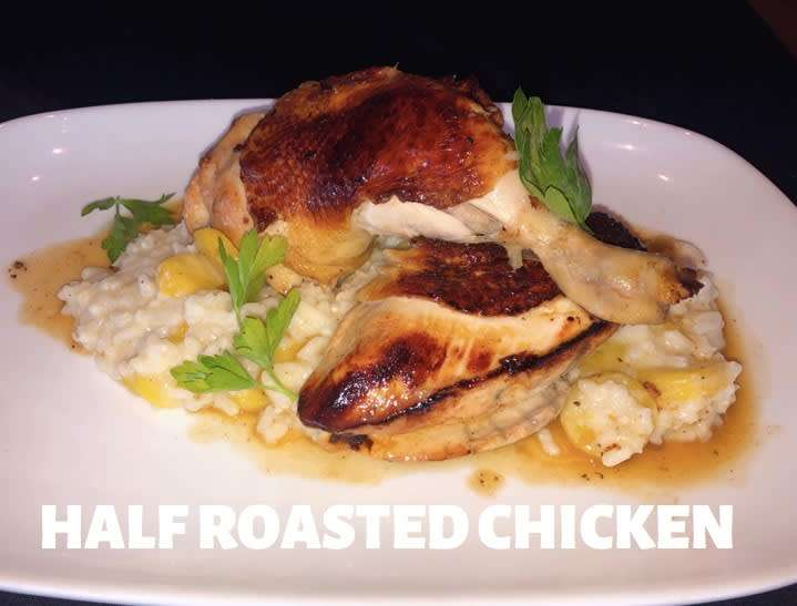 Half Roasted Chicken