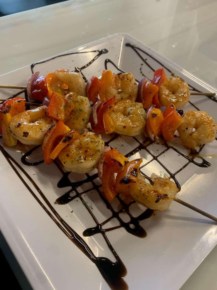 Nick's Shrimp Kabobs