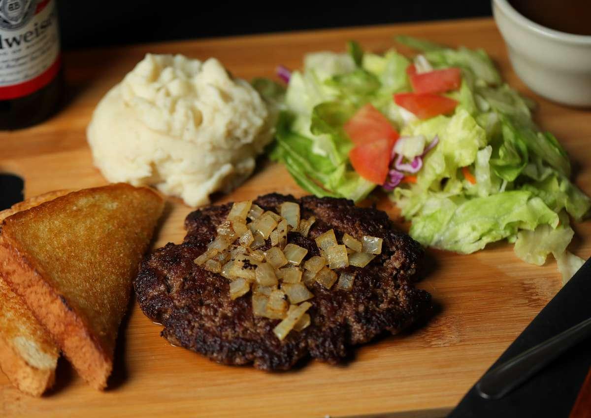 Hamburger Steak Dinner